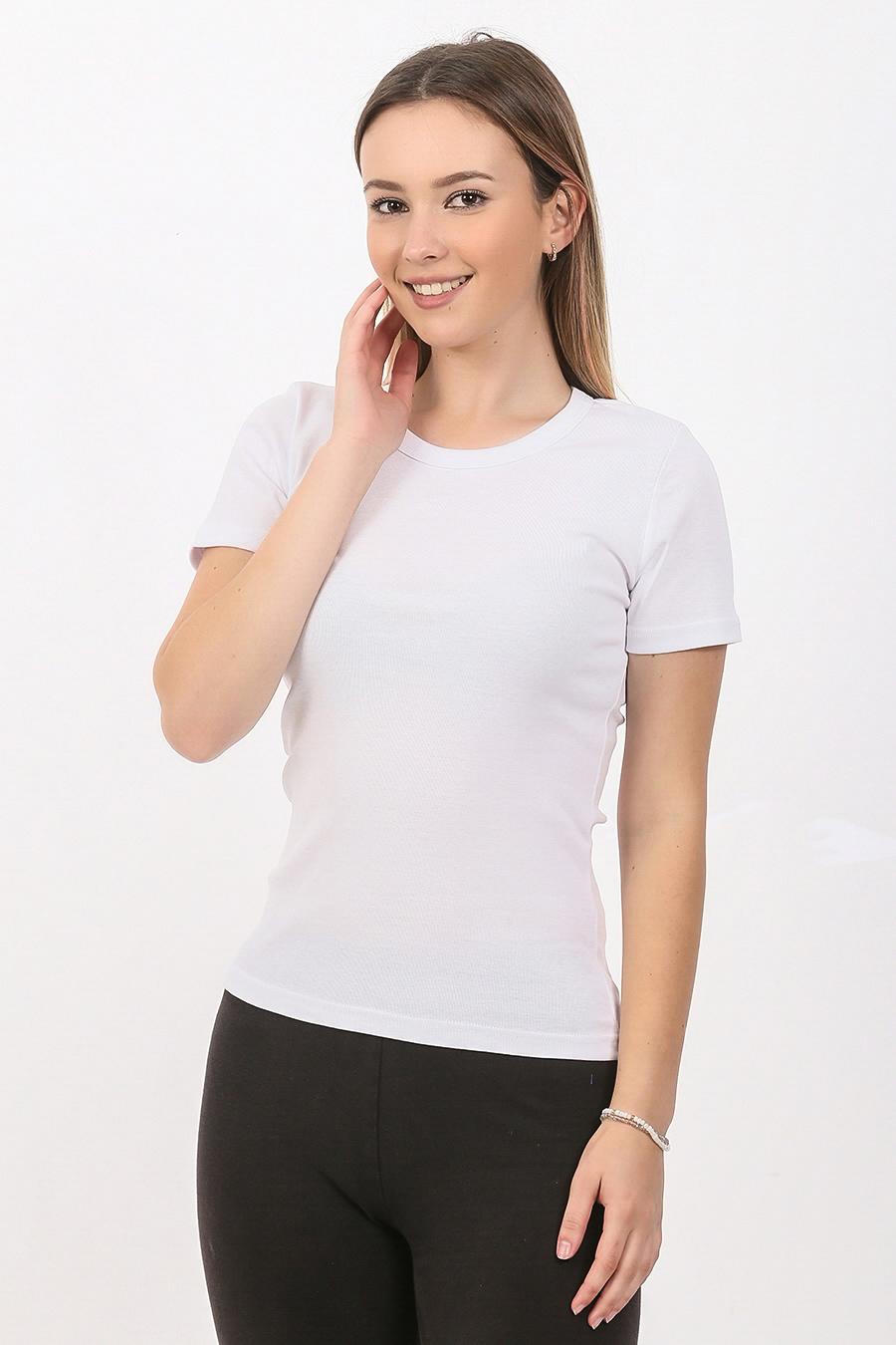 Zenska majica kratak rukav bela ART.705 (bela